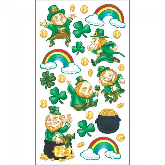 Leprechaun Riches Stickers