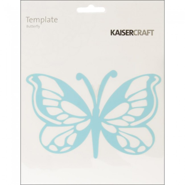 """Butterfly 6"""" x 6"""" Template"""