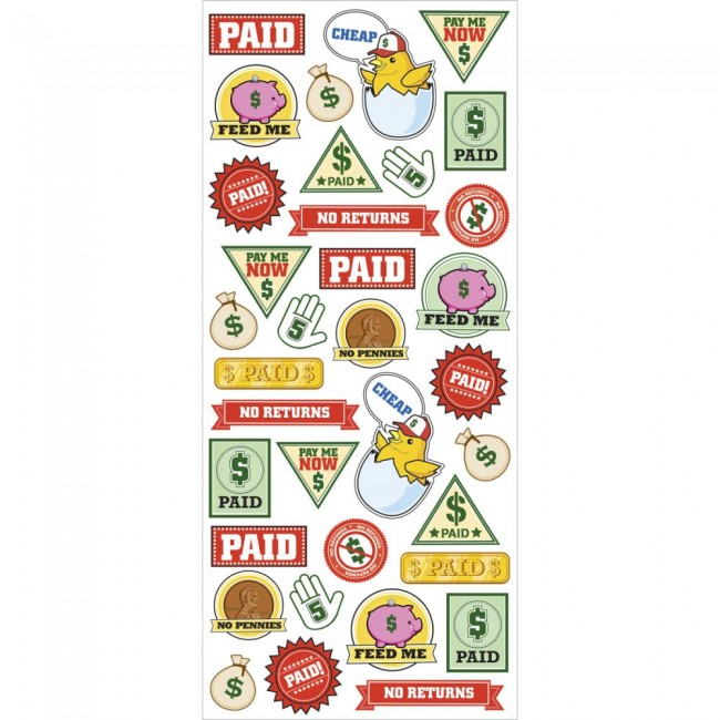 Paid Sticker Labels Stickers