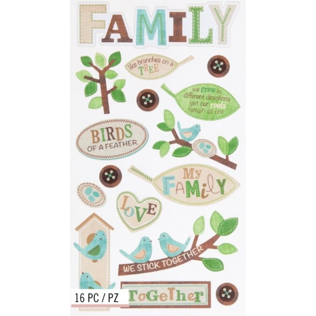 The Family Tree Stickers
