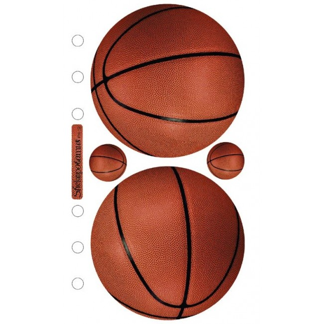 Basketballs Stickers