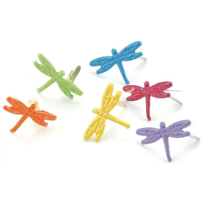 Tropical Dragonfly Fasteners