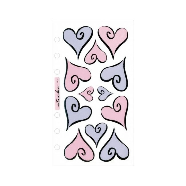 Hearts Of Love Stickers