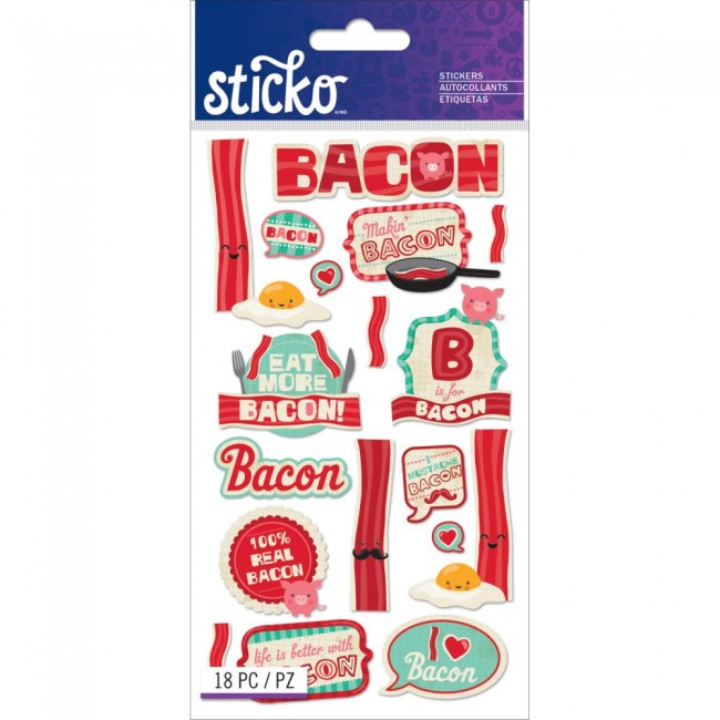 Bacon Stickers