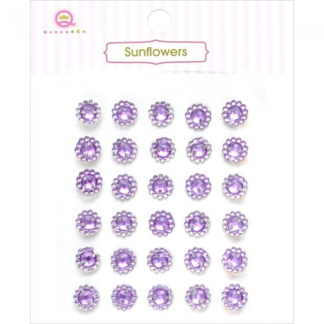 Sunflower Purple