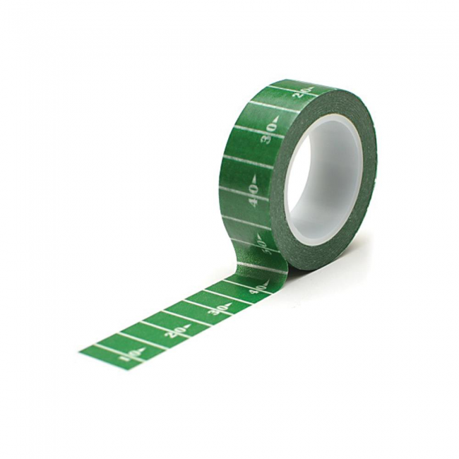 Washi Tape Football Gridiron