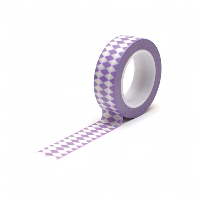 Washi Tape Diamonds Purple