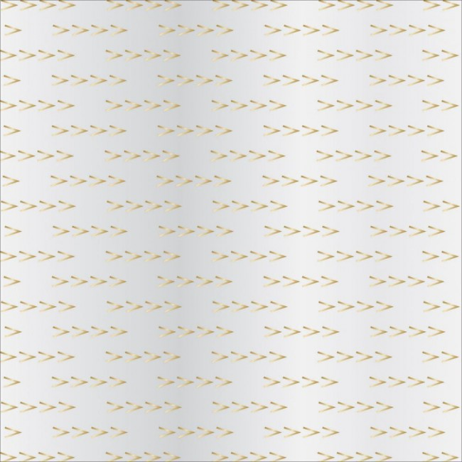 Papel estampado Una cara 12x12-Signature Essential-Arrows gold Foil