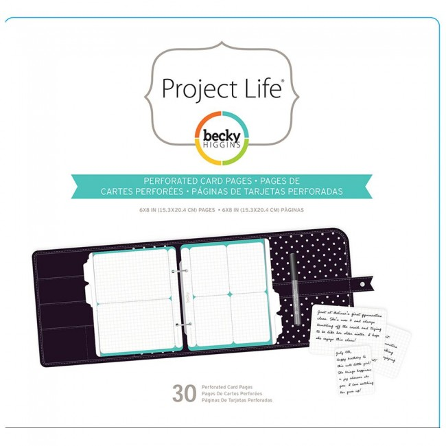 Project Life Grid Card Pages