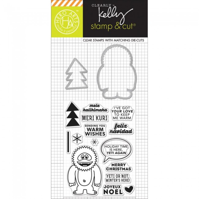 Stamps & Cuts Kelly's Yeti