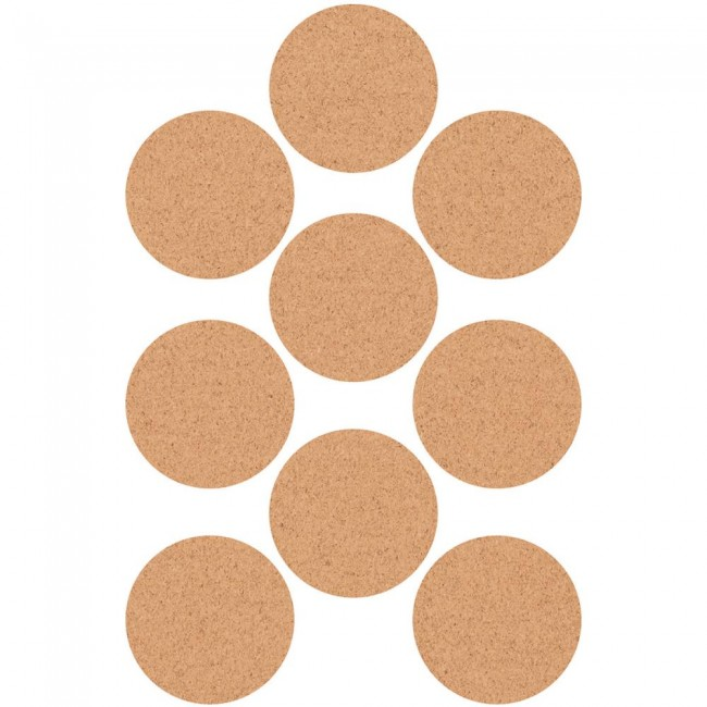 Cork Circle Stickers Lucky Dip