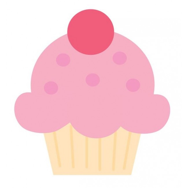 Cupcake Mini Icons Stickers