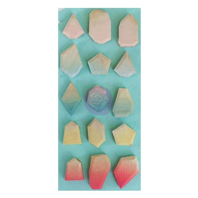 Ombre Crush Geo Shapes Wooden