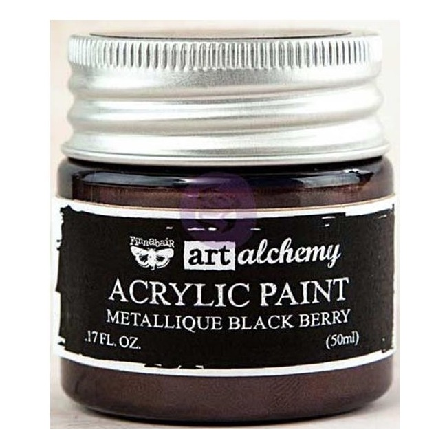 Pintura acrílica Metallique - Black Berry