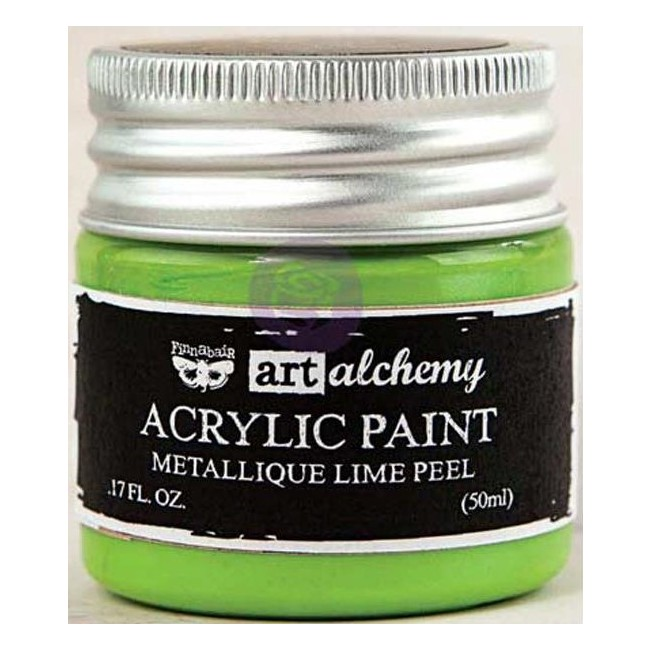 Pintura acrílica Metallique   Lime Peel