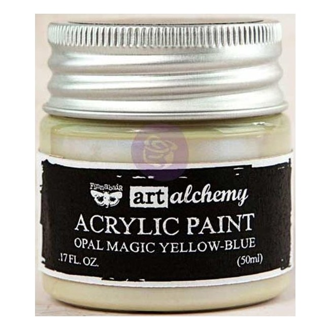 Pintura acrílica Opal Magic   Yellow/Blue