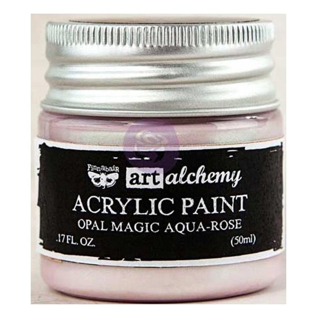 Pintura acrílica Opal Magic   Aqua/Rose