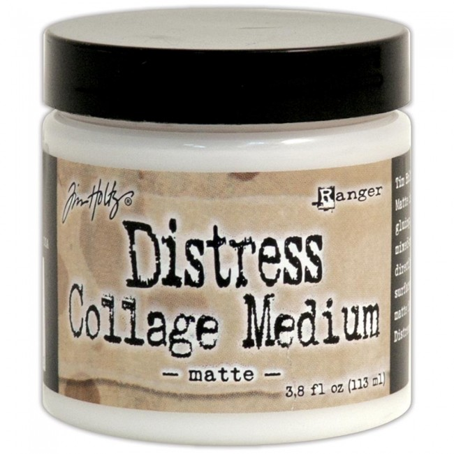 Matte Distress Collage Medium