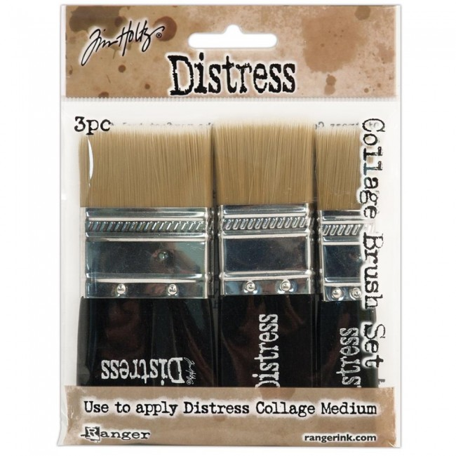 Collage Brush Tim Holtz Set