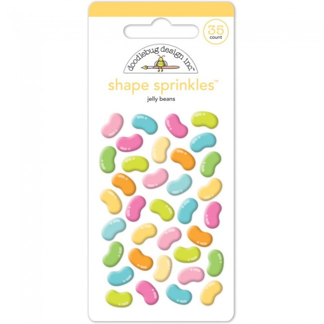 Jelly Beans Shape Sprinkles