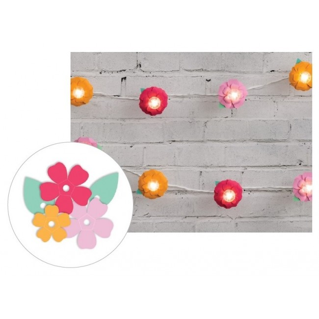 Bright Flower Die Cut Diy Party