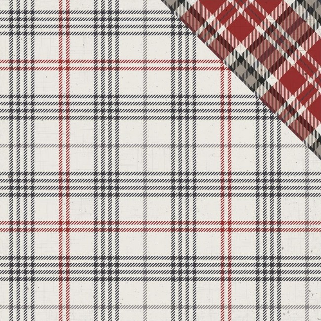 Papel estampado Doble cara 12x12-Mad 4 Plaid-Tailo
