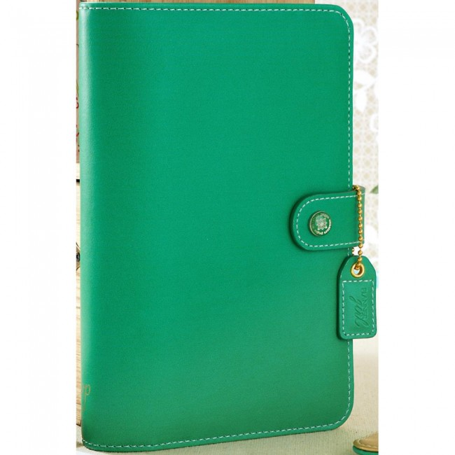 Kit Agenda A2 Color Crush Personal Planner - Summer Green (Perpetua)
