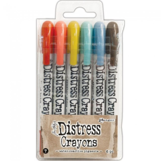 Set Distress Crayons #7