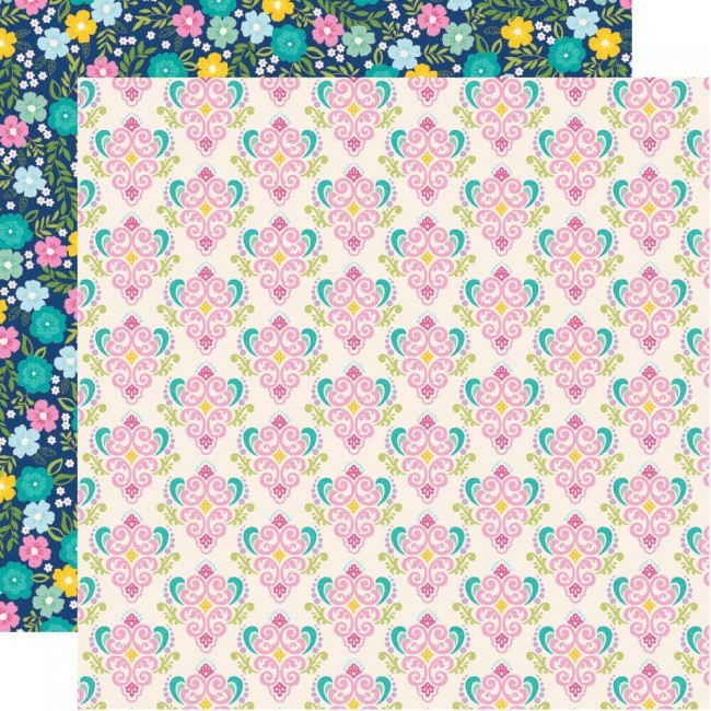 Papel Estampado Doble Cara 12x12 Little Princess Happily Ever After