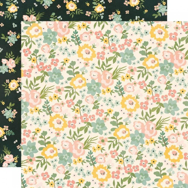 Papel Estampado Doble Cara 12x12 Spring Farmhouse Love A Lot