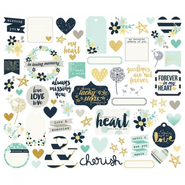 Die Cuts Heart Bits & Pieces