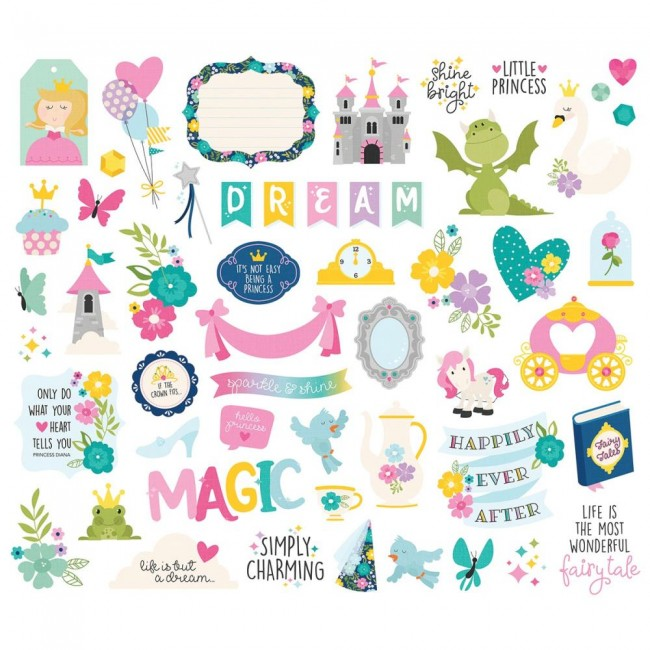 Die Cuts Little Princess Bits & Pieces