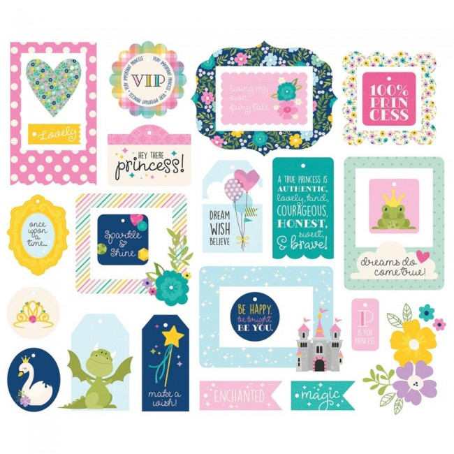 Die Cuts Little Princess Tags & Frames