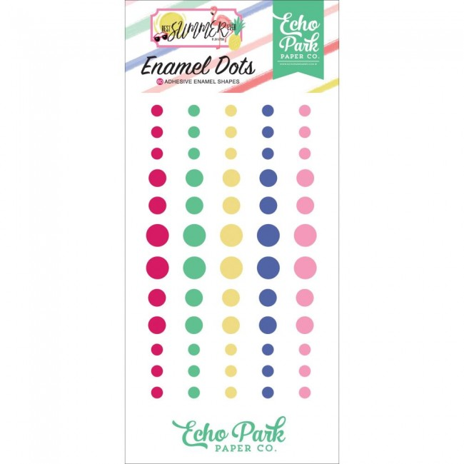 Enamel Dots Best Summer Ever
