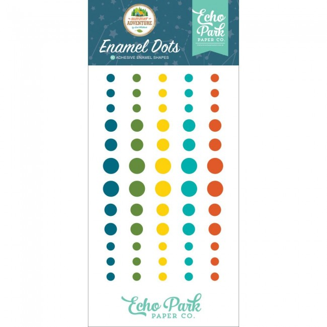 Enamel Dots Summer Adventure