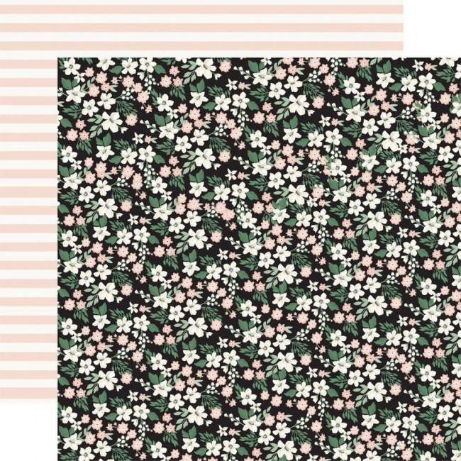 Papel Estampado Doble Cara 12x12 Wedding Day Wedding Floral