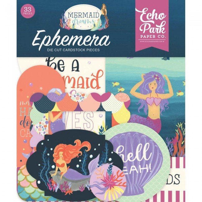 Die Cuts Mermaid Dreams Icons
