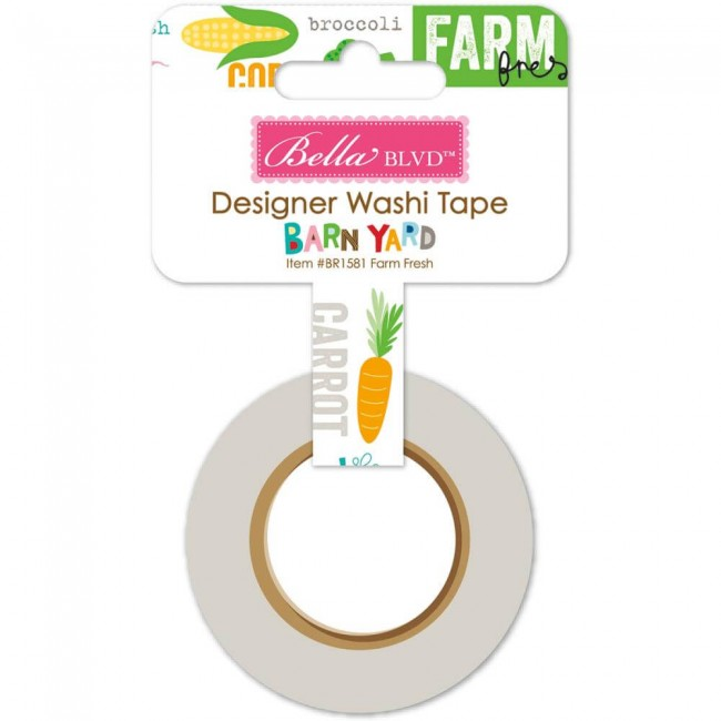 Washi Tape Barn Yard - Farm Fresh