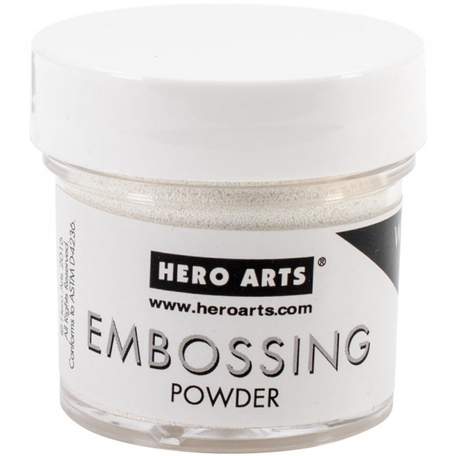 Polvos de embossing White Puff