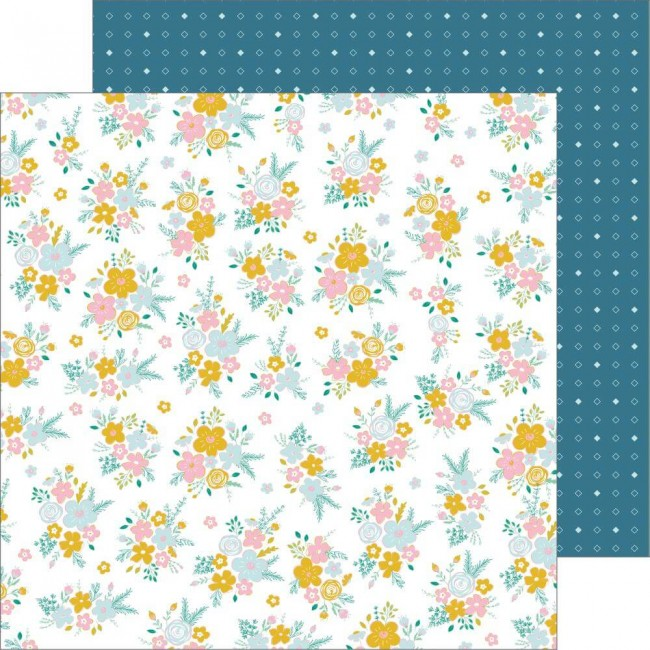 Papel Estampado Doble Cara 12x12 Joyful Days Just Right