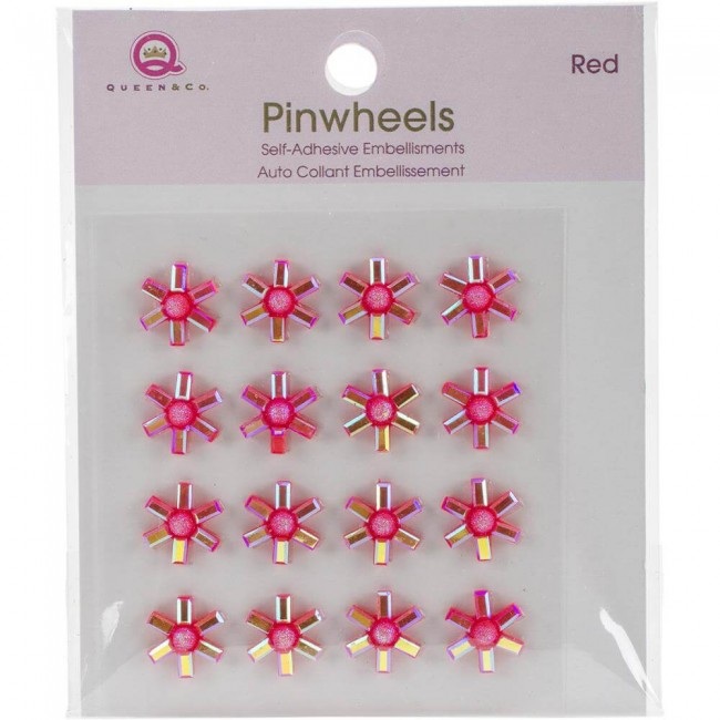 Pinwheels - Red