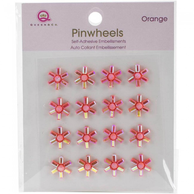 Pinwheels - Orange