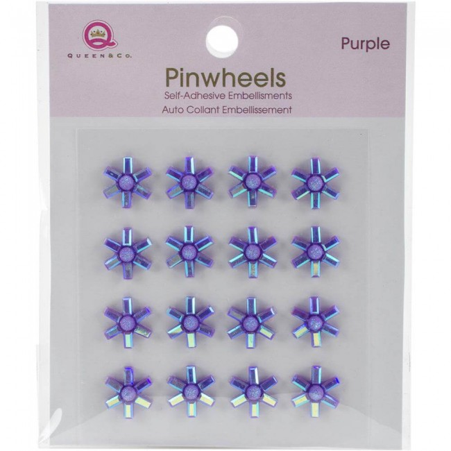 Pinwheels - Purple
