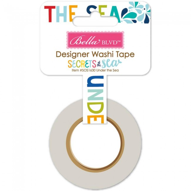 Washi Tape Secrets Of The Sea - Girl Under The Sea