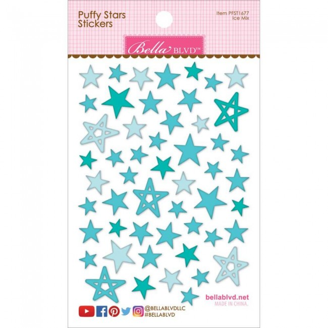 Pegatinas Puffy Stars - Ice Mix