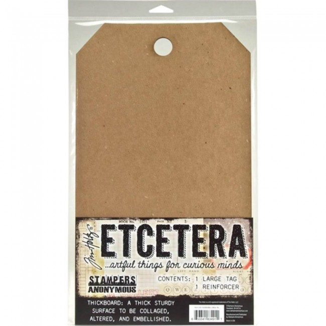 Tags Thickboard Tim Holtz Etcetera - Large