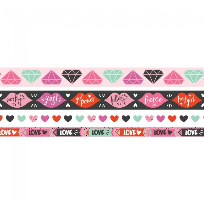 Set de Washi Tape Girly