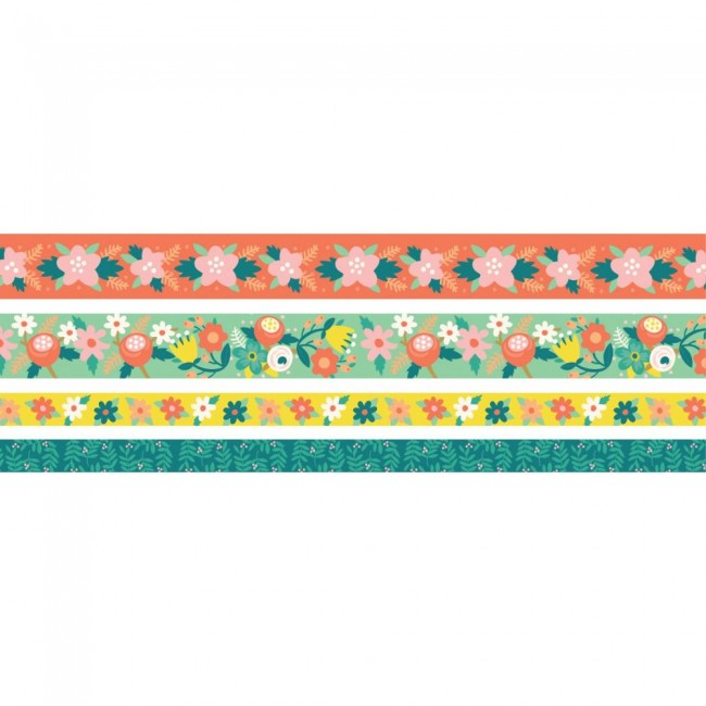 Set de Washi Tape Bright Floral