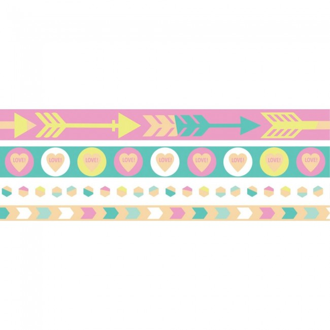 Set de Washi Tape Pastel