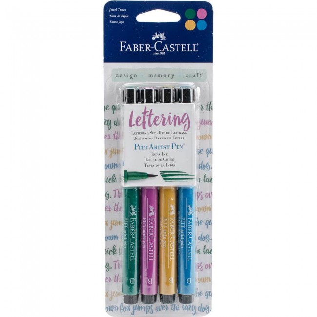 Set Rotuladores Pitt Artist Pen - Jewel